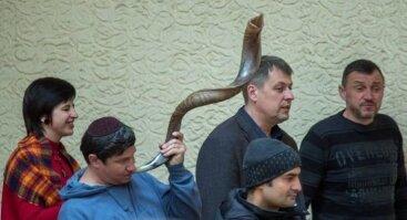 VŽB Vilniaus I skyriaus banketas. Svečiuose - mesijiniai žydai