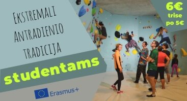 Antradienis studentams! Tuesday for students and Erasmus!