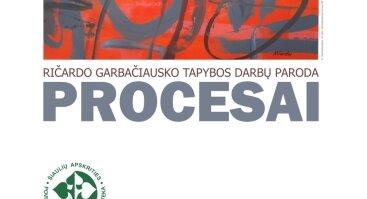 Ričardo Garbačiausko tapybos darbų parodos atidarymas