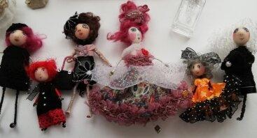 Lėlyčių - aksesuarų kūrimo rytmetys mamytėms ir dukrytėms!
