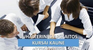 BUHALTERINĖS APSKAITOS KURSAI KAUNE BUHALTERIO - APSKAITININKO PROFESINĖ KOMPETENCIJA