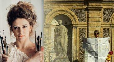 """Eglės Ščerbinskaitės fotografijų paroda - pardavimas """"2X Italija"""""""