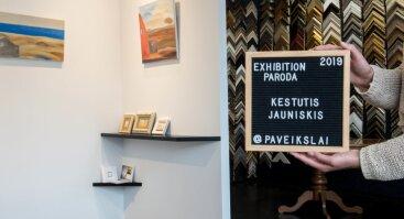Kęstučio Jauniškio tapybos paroda