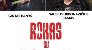 """Palangos kurorto muziejuje – Sauliaus Urbonavičiaus-Samo ir Ginto Banio paroda """"Rokas su teptukais"""""""