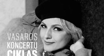 """Vokalistė Rasa Serra kartu su Klaipėdos brass kvintetu dalyvauja koncertinėje programoje """"Myliu Paryžių..."""""""