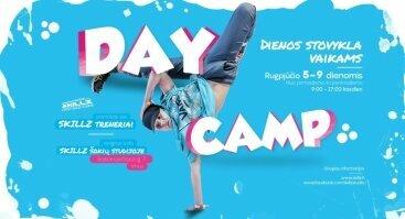 SKILLZ DAY CAMP - vasaros šokių dienos stovykla vaikams