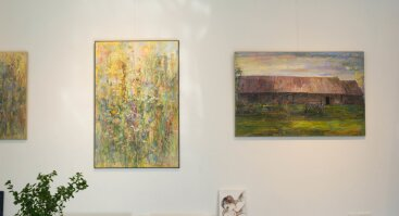 Jono Šidlauko paveikslų paroda