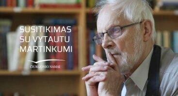 Susitikimas su Nacionalinės kultūros ir meno premijos laureatu Vytautu Martinkumi