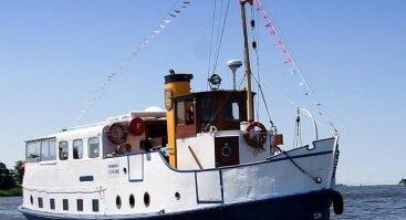 Joninių dienos išvyka laivu į Juodkrantę