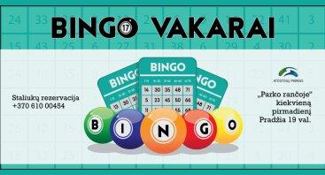 "Bingo vakaras ""Parko rančoje"""