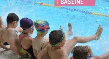 """SPECIALI NUOLAIDA vasaros plaukimo stovykloje """"Girstučio"""" baseine"""