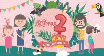 Gimtadienio šventė! Zooparkui - 2 metai!