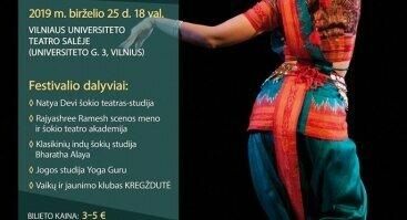 Klasikinių indų šokių mokyklų festivalis MANO INDIJA