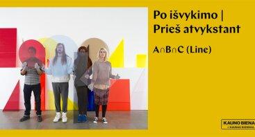 "Amalia Pica (Argentina) ""A ∩ B ∩ C (Line)"""
