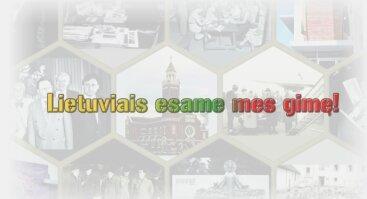 """Pasaulio lietuvių metams skirta fotografijų paroda """"Lietuviais esame mes gimę!"""""""