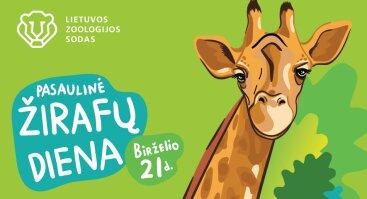 Pasaulinė žirafų diena Lietuvos zoologijos sode