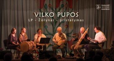 "VILKO PUPOS pristato LP ""Žolynai"""
