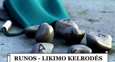 RUNOS – LIKIMO KELRODĖS. Praktinis panaudojimas - paskaitų ciklas Vilniuje