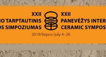 XXII Panevėžio tarptautinio keramikos simpoziumo atidarymas