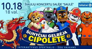 Šunyčiai gelbėja Cipoletę