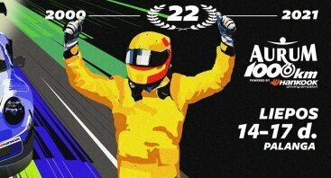 Aurum 1006 km. lenktynės 2021