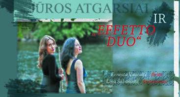 """Effetto Duo koncertas """"Jūros atgarsiai"""""""