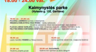 Šeimų piknikas IŠJUNK TV-6 Garliavoje