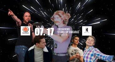 Stand Up Vakaras @4 BUTAS x Bazooka