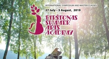 Jaunoji Birštono vasaros menų akademija