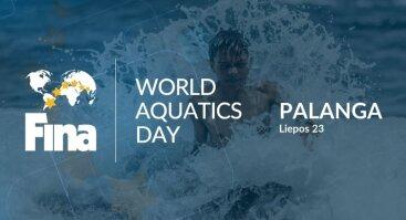 Pasaulinė FINA Aquatics diena Palangoje