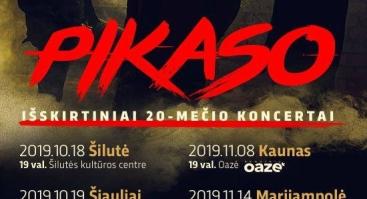 PIKASO 20-mečio koncertas
