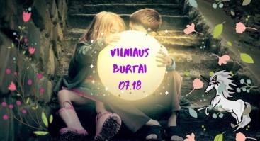 """Ekskursija visai šeimai """"Vilniaus burtai"""""""