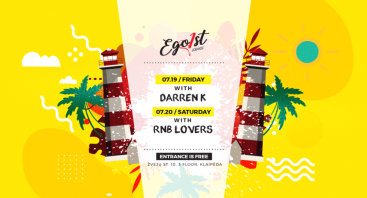 Friday with Darren K | Egoist Lounge