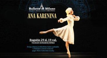 """Ana Karenina"", Balletto di Milano (Italija)"