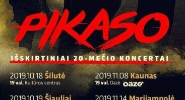Išskirtinis PIKASO 20-mečio koncertas | Kaunas