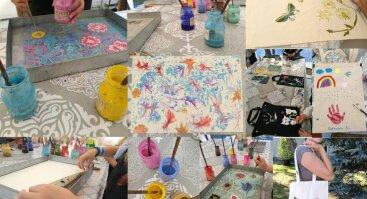 Kūrybinės asmeninės šventės suaugusiems Vila Ramybėje - edukacijų palapinėje