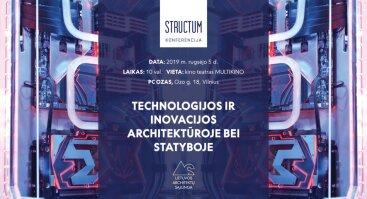 Nemokama konferencija: Technologijos ir inovacijos architektūroje bei statyboje