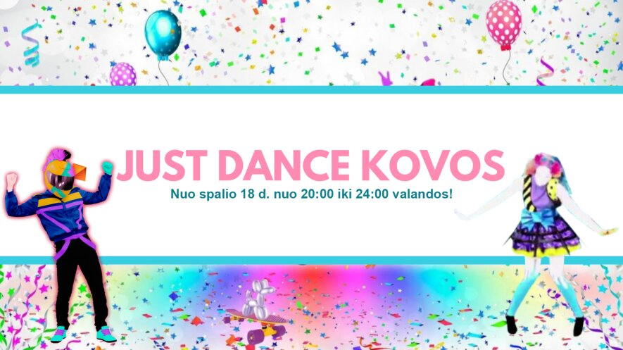 Just Dance Kovos 2019-10-18