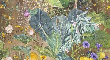 J. Pudokaitės tapybos paroda VU Botanikos sode