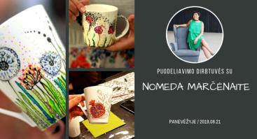 Puodeliavimo dirbtuvės su Nomeda Marčėnaite Panevėžyje
