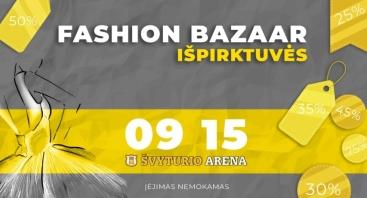 Fashion Bazaar Išpirktuvės Klaipėdoje
