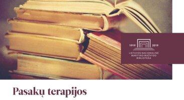 Pasakų terapijos dirbtuvės suaugusiesiems Palangos vasaros skaitykloje