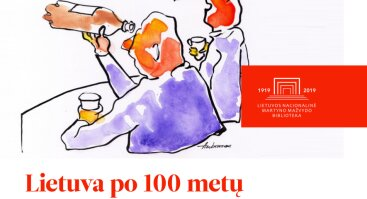 Lietuvos karikatūristų darbų paroda Palangos vasaros skaitykloje