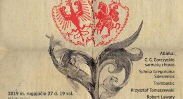 Vivat! Koncertas skirtas Liublino unijos 450-osioms metinėms