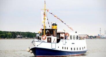 Dienos kruizas  keleiviniu laivu Forelle Klaipėda - Juodkrantė