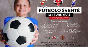 Šeimos futbolo šventę ir vaikų futbolo turnyras