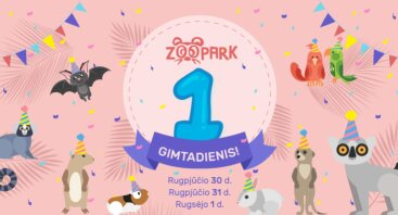 1-asis Zoopark gimtadienis!