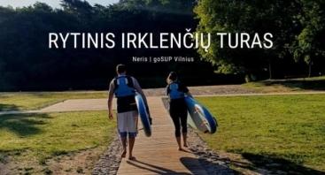 Rytinis irklenčių turas Vilniuje
