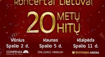 """Radijo stotis LIETUS gimtadienio koncertas """"20 metų – 20 hitų"""" !"""