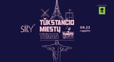 """Humoro klubas Klaipėdoje su programa """"Tūkstančio miestų turas"""""""